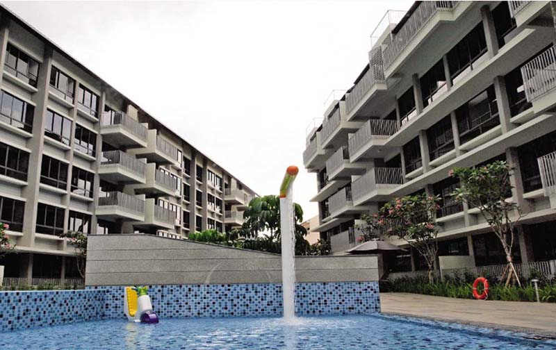 Residences Botanique @ Sirat Road (81 units)